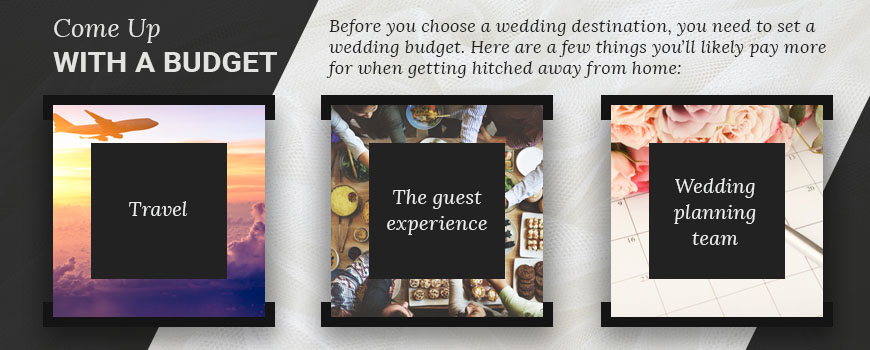 destination wedding budget