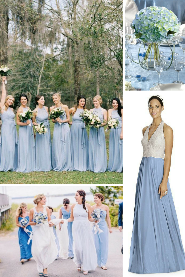 blue wedding day inspiration