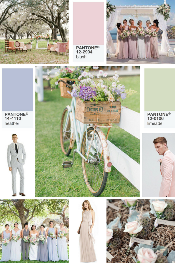 pastel wedding days