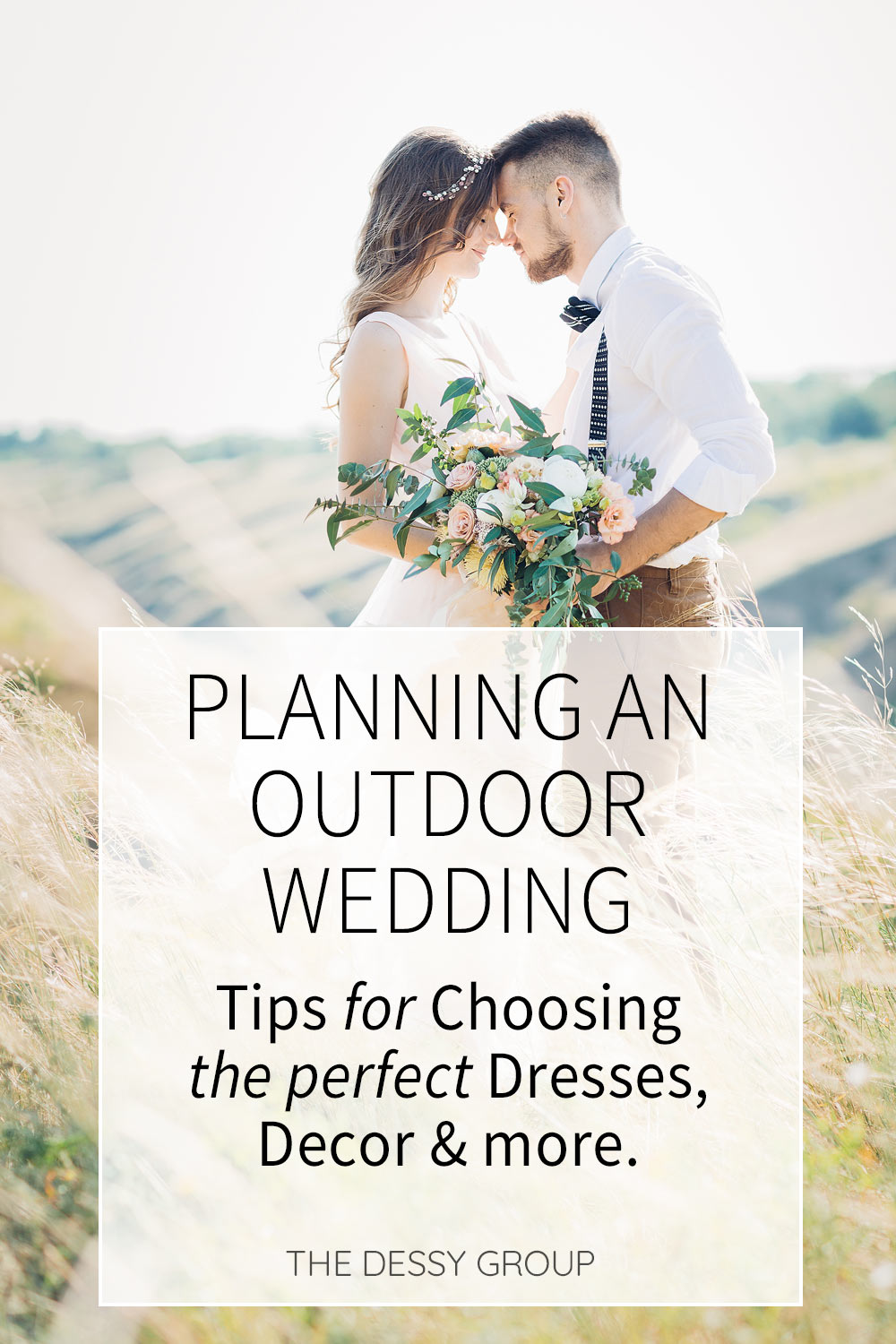 Are you planning an outdoor wedding? You'll find tips for choosing wedding colors and decorations to complement different venues, plus food and dress ideas for the cool weather of Fall to hot Summer weather.