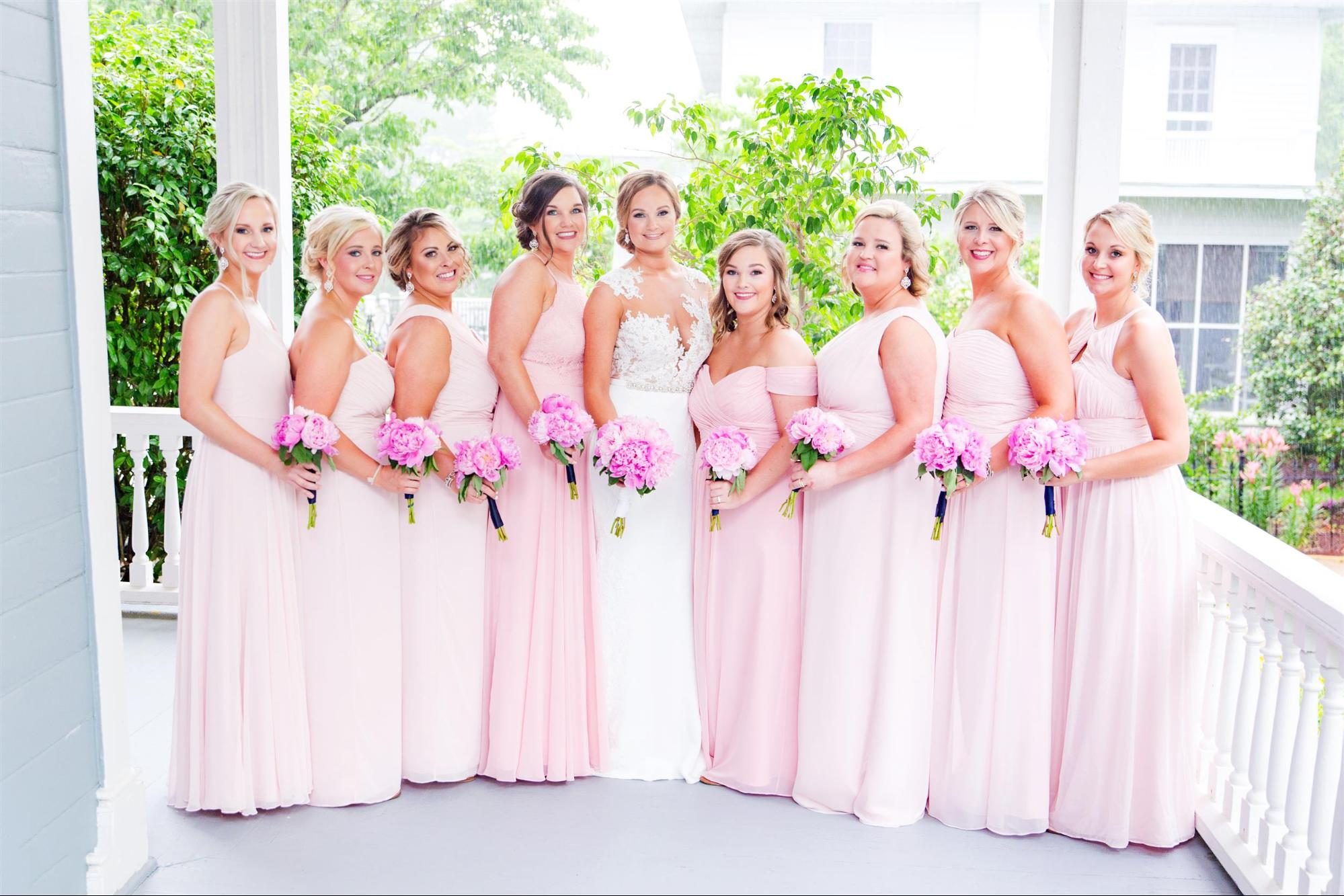 Rewear Your Bridesmaid Dresses - Mix and Match Bridal Party