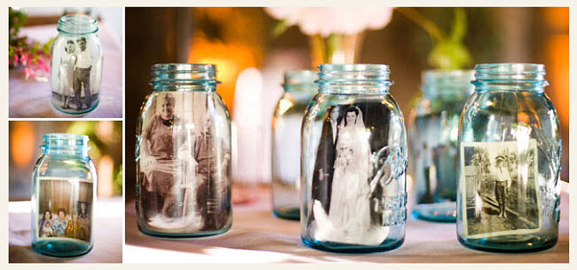 DIY Mason Jar Photo Keepsake