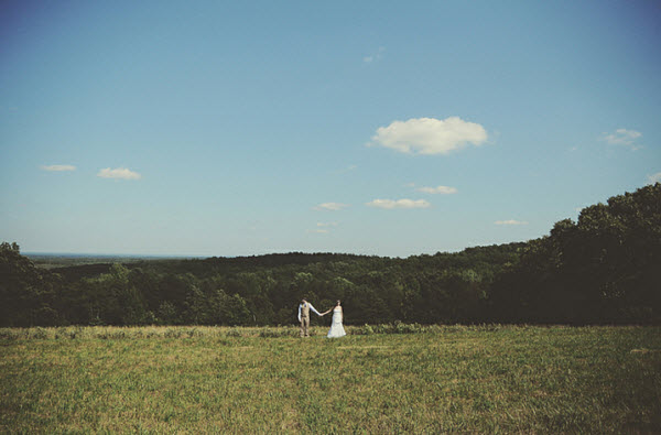 A Rustic Wedding in the Great Outdoors