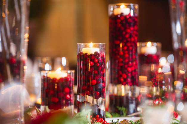 The Magic of the Holidays on Your Wedding Day