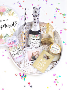 Chic Bridesmaid Gift Box