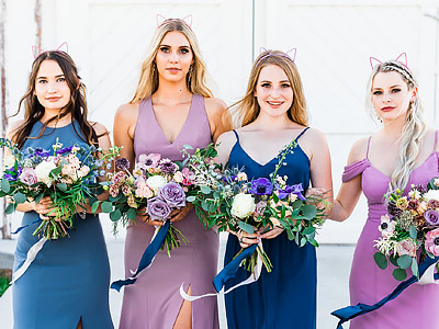 Mix n Match Bridesmaid Inspiration - Wedding Chicks