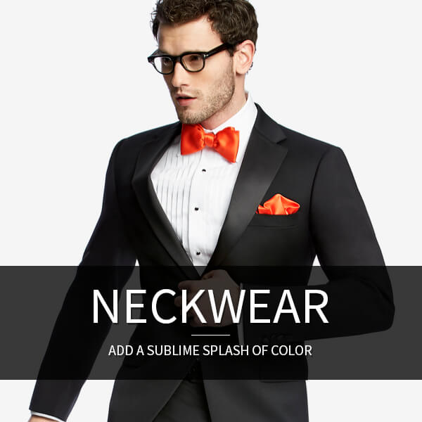 Neckwear - Ties & Bowties: Add a sublime splash of color.