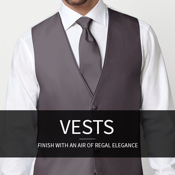Tuxedo Vest - Formal Vest - Waistcoat: Finish with an air of regal elegance.