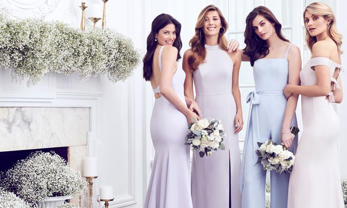 19e0337facb Radiant Orchid Spaghetti Strap Bridesmaid Dresses