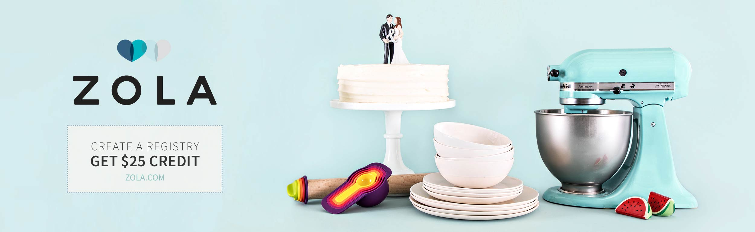 Wedding Registry - Zola & Dessy Group