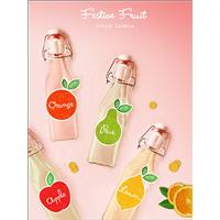 XMAS: FREE Download: Festive Fruit Drink Labels
