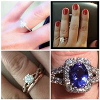 Engagement Ring Selfies Marry Bling With He-Put-a-Ring-On-It Pride