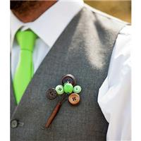 Button Bouquets and Buttonholes
