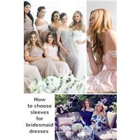 5 things you need to know about sleeves on bridesmaid dresses