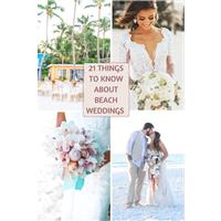 21 things to know about beach weddings