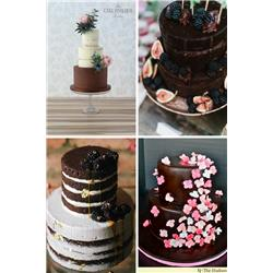 Are these the ultimate chocolate wedding cakes?