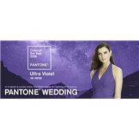 This is how brides can use Pantone's color of the year 2018 - Ultra violet