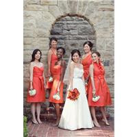 Five Different Looks For Your Bridesmaids