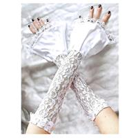 Fingerless Wedding Gloves for the bride