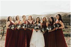 How To Achieve Evening Elegance Without Dressing Your Bridesmaids in Black